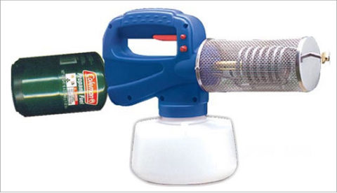 nebulizador de insecticida